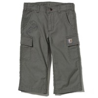 limited sale carhartt ck9317 - washed ripstop cargo capri girls olive last chance best price