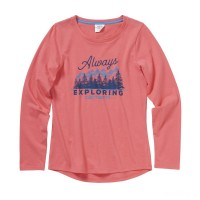 best price carhartt ca9707 - always exploring tee girls calypso coral limited sale last chance