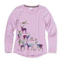 best price carhartt ca9711 - watercolor horse tee girls lavender herb last chance limited sale