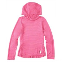 last chance carhartt ca9653 - force pullover hoodie girls fuchsia limited sale best price