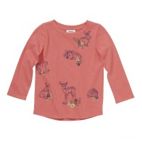 best price carhartt ca9716 - forest friends tee girls calypso coral last chance limited sale