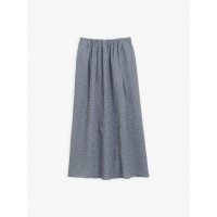 limited sale blue and white gingham cotton crepe eloïsa skirt last chance best price