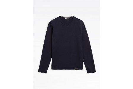 limited sale navy blue v sweater last chance best price