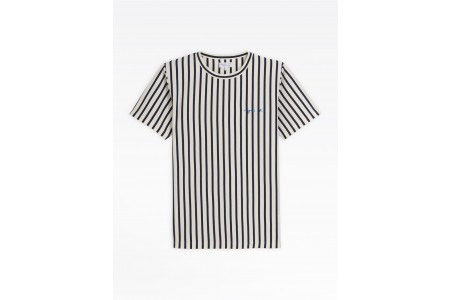 limited sale navy blue and white striped coulos t-shirt last chance best price