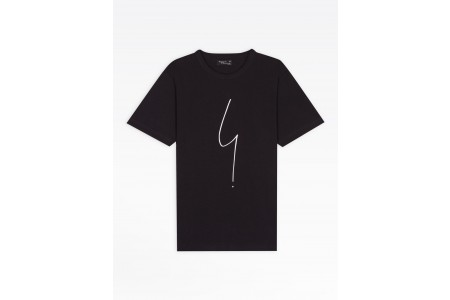 last chance black short sleeves irony t-shirt limited sale best price