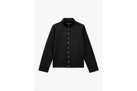 last chance black new yvan snap cardigan best price limited sale