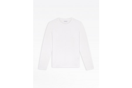 best price white long sleeves coulos men's t-shirt limited sale last chance
