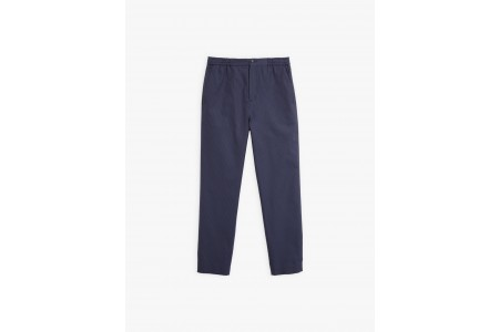 last chance navy blue noam pants with thin stripes best price limited sale