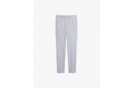 limited sale blue and white jamming pants with fine stripes last chance best price