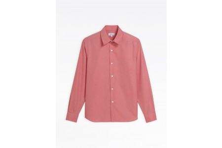 best price guava pink cotton andy shirt last chance limited sale