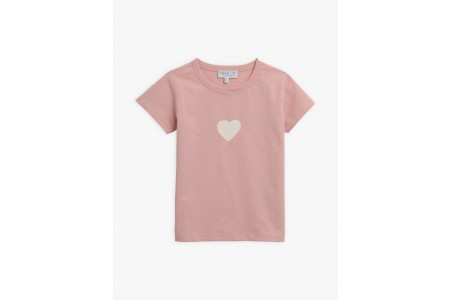 best price light pink heart pirate t-shirt last chance limited sale
