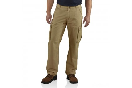last chance carhartt 100272 - rugged relaxed fit cargo pant dark khaki limited sale best price