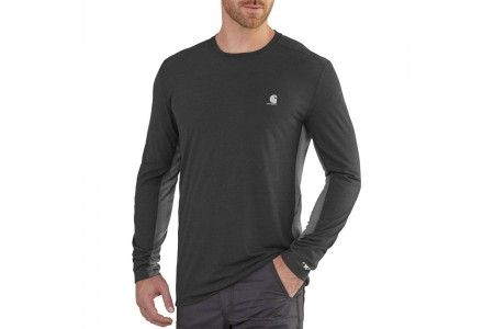last chance carhartt 102264 - force extremes™ long sleeve t-shirt shadow/asphalt limited sale best price