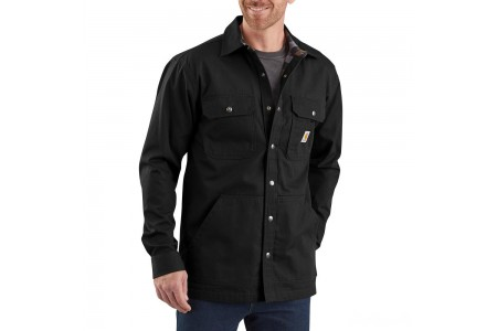 last chance carhartt 104146 - ripstop solid shirt jac black limited sale best price