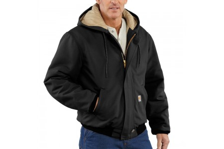 limited sale carhartt 101621 - flame-resistant duck active jacket quilt lined black best price last chance