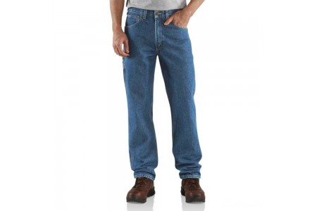 limited sale carhartt b171 - carpenter relaxed fit jean darkstone last chance best price