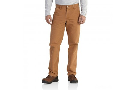 best price carhartt 101710 - washed duck relaxed fit pant brown limited sale last chance