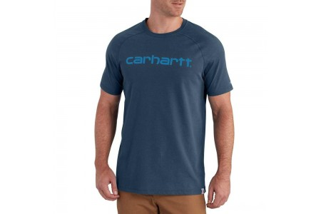 last chance carhartt 102549 - force® delmont short sleeve graphic t-shirt light huron heather limited sale best price
