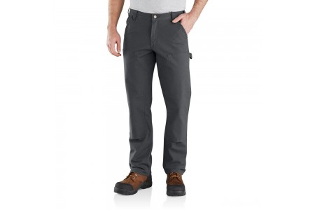 best price carhartt 103334 - rugged flex® relaxed fit double front pant shadow last chance limited sale