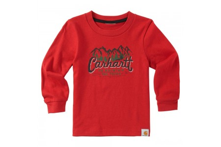 limited sale carhartt ca8898 - too tough tee boys chili best price last chance
