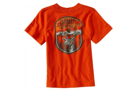 limited sale carhartt ca8791 - outhunt them all tee boys orange best price last chance