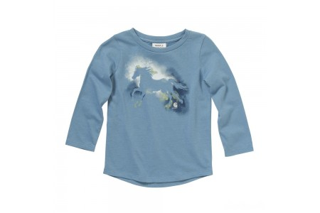 limited sale carhartt ca9718 - watercolor horse tee girls blue haven last chance best price