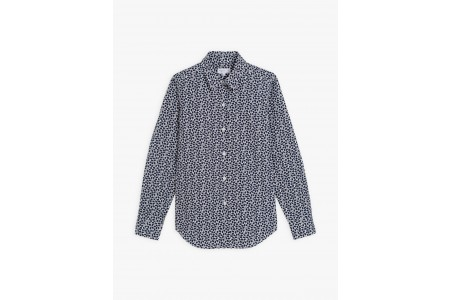 last chance blue zorro shirt with floral print best price limited sale