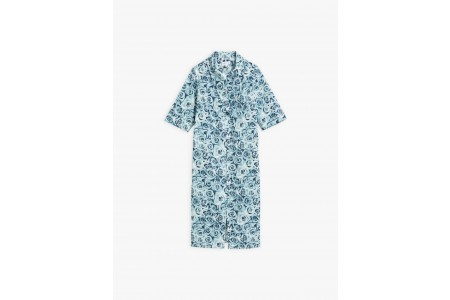 last chance turquoise eden dress with roses print best price limited sale