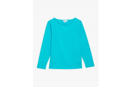 last chance turquoise long sleeves bow t-shirt best price limited sale