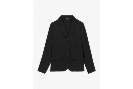 limited sale black tailored jacket best price last chance
