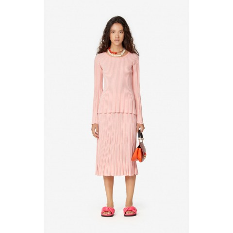 limited sale pleated jumper - flamingo pink last chance best price