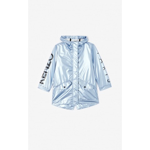best price shimmering anorak - blue limited sale last chance