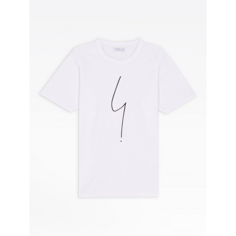 limited sale white short sleeves irony t-shirt last chance best price