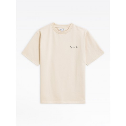 limited sale off-white thick cotton christof t-shirt best price last chance