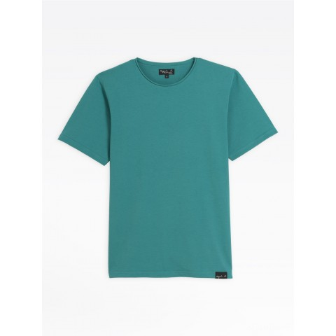best price green short sleeve roulotté t-shirt last chance limited sale