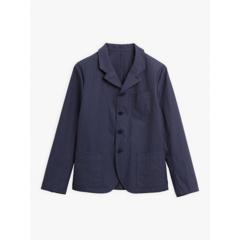limited sale navy blue albin jacket with thin stripes best price last chance