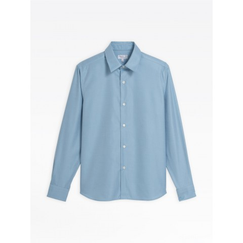 last chance ice blue cotton andy shirt limited sale best price