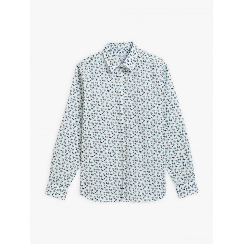 last chance white andy shirt with liberty fabric best price limited sale