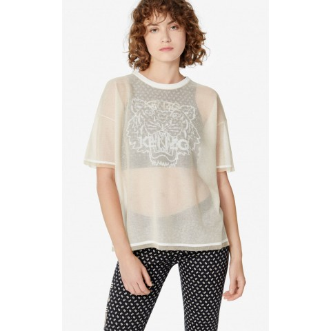 limited sale knit tiger t-shirt - off white last chance best price