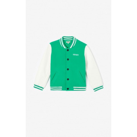 best price teddy 'disco jungle' jacket - green limited sale last chance