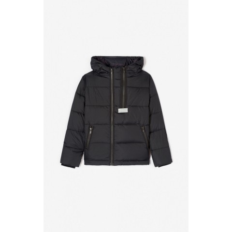 limited sale padded down jacket - black best price last chance