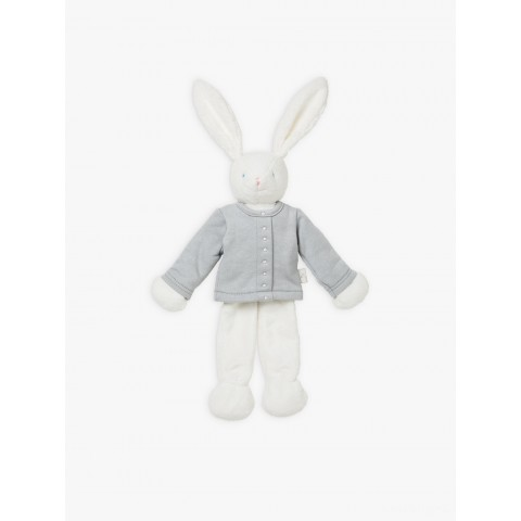 best price grey snap cardigan bunny cuddly toy limited sale last chance
