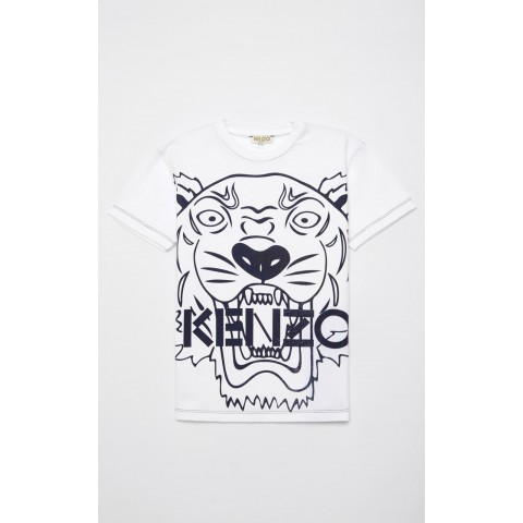 last chance tiger t-shirt - navy blue best price limited sale