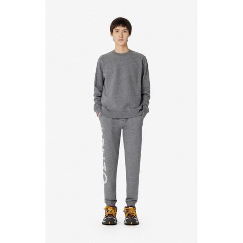 limited sale kenzo logo joggers - anthracite last chance best price