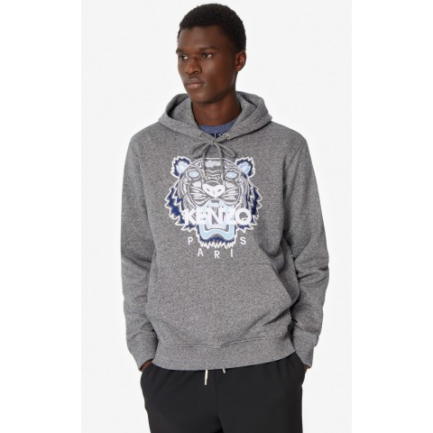 limited sale tiger hooded sweatshirt - anthracite best price last chance