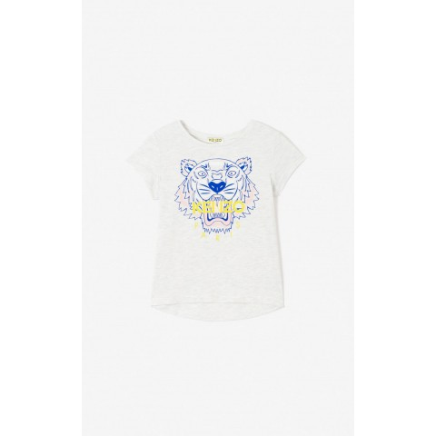 best price tiger t-shirt - pale grey limited sale last chance