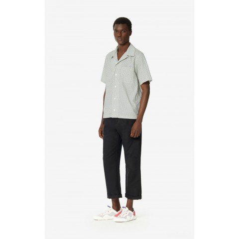 best price straight-cut trousers - black limited sale last chance