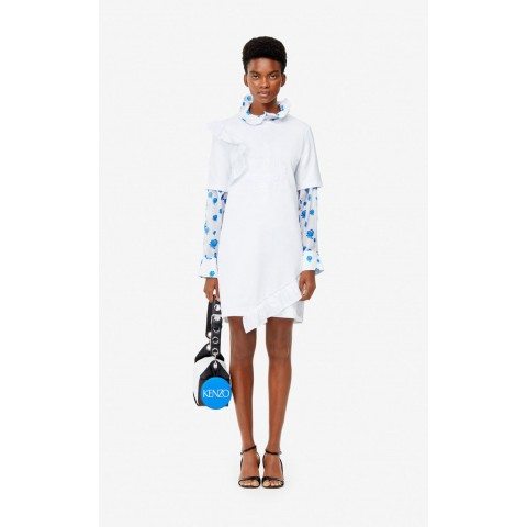 best price 'flying tiger' dress - white last chance limited sale