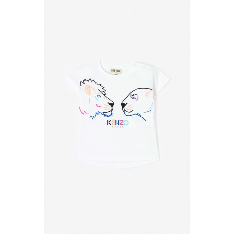 limited sale 'tiger friends' t-shirt - white last chance best price