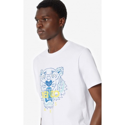 limited sale tiger t-shirt - white best price last chance